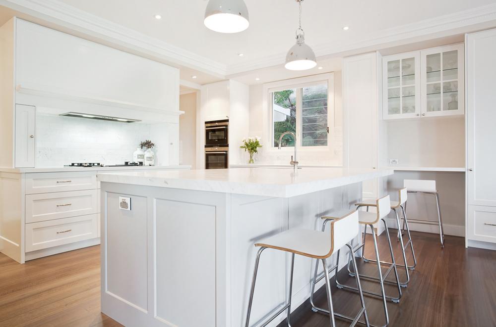 Hampton 39 s style kitchen cti kitchens designer joinery for Hampton style kitchen designs